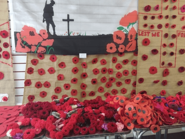 Remember Rotherham Market's Poppies