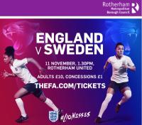 England will host Sweden