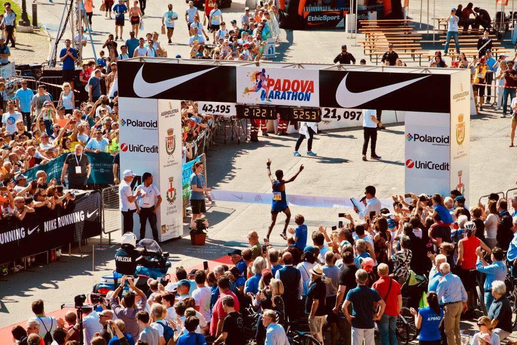winner in the race