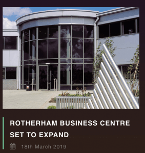 Rotherham business centre expanding