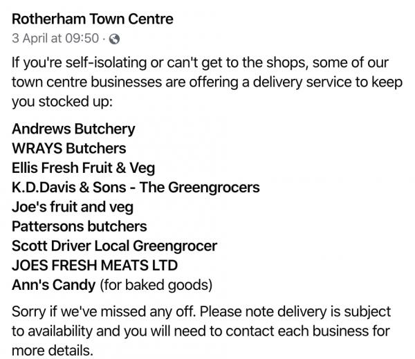 best market in rotherham